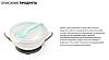 Мисочка-тарелка с присоской и ложечкой BabyOno Синяя, фото 8