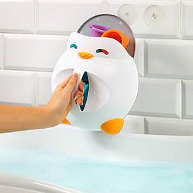 Контейнер BabyOno для игрушек в ванной Пингвин Мартин