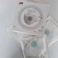 Упаковка 4 маски - Xiaomi AirPOP Light 360° White Маска для Очистки Воздуха Респиратор PM2.5 FFP2 FP95 F95
