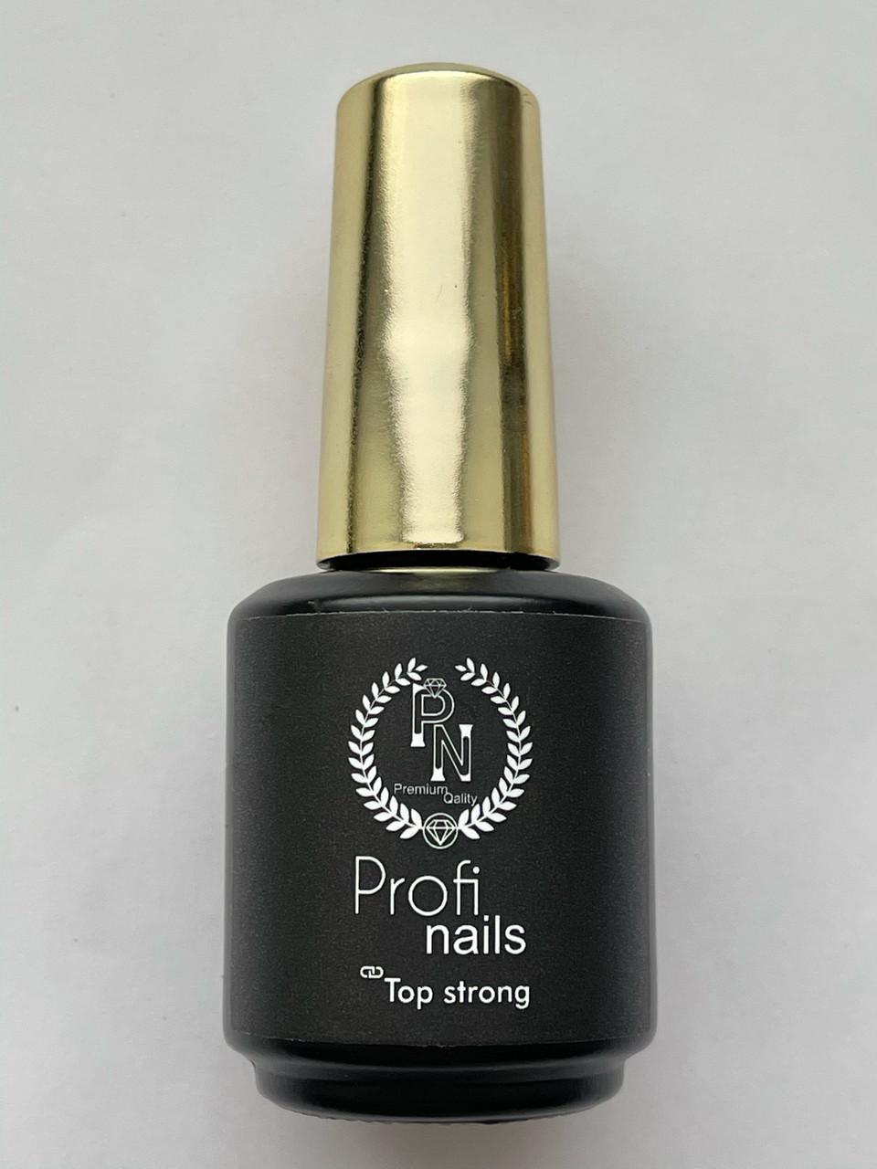 Strong от Profi nails сверхпрочное универсальное финишное покрытие от Profi nails8 мл