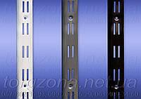 Рейка двухрядная (двойная, цвет ''металлик'')