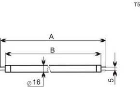 BLB-T5/4W   PRO-4W УФ-лампочка, фото 2