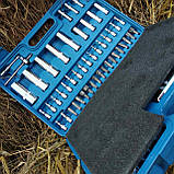 Набор инструмента Zhongxin 108 од набір ключів для авто дома автоинструмент набор ручного инструмента, фото 5