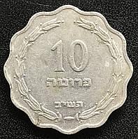 Монета Израиля 10 прут, фото 1