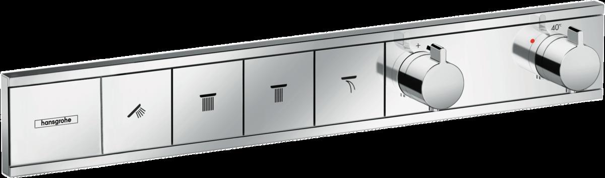 Термостат прихованого монтажу RainSelect на 4 клавіші Chrome (15382000)