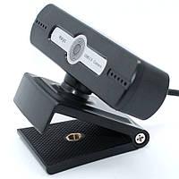 Проводная компьютерная веб-камера с микрофоном DL104 USB Webcam для учебы и скайпа Универсальное крепление