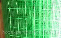 Сітка вольерная 1,5х100 м,осередок 12х14 мм (чорна,зелена).Паркани садові,пластикові сітки., фото 3