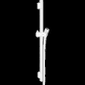 Душова штанга Unica S Pura 65 см зі шлангом 160 см Matt White (28632700)