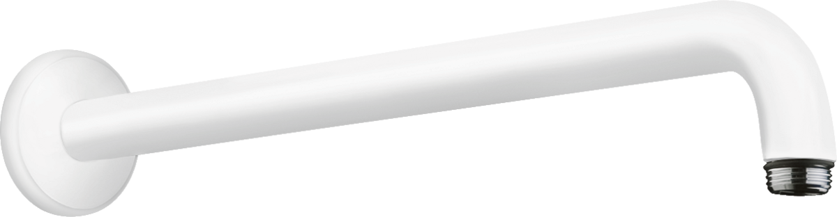 Кронштейн для верхнього душу 389 мм Matt White (27413700)