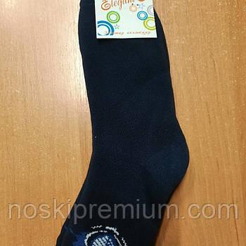 Детские носки х/б махровые Элегант, 20 размер, тёмно-синие