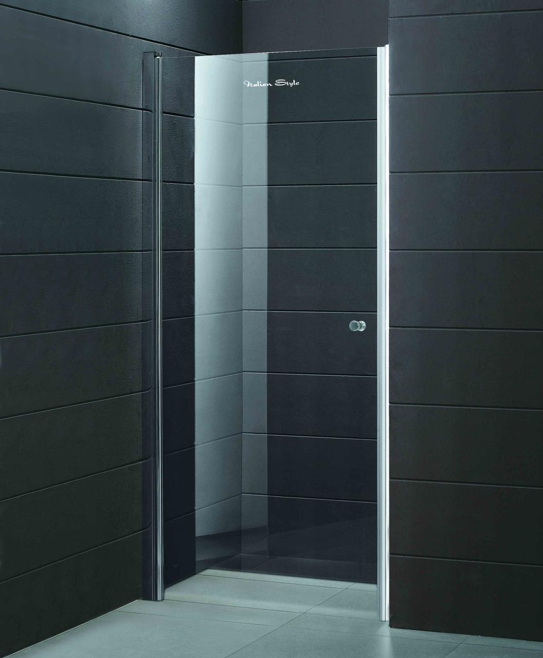 Душові двері ліві PARADISO 1000х1850 P2151S L (ice engraving)  AK