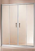Шторка для ванни  VENICE (1500х1400) V1152 EG (коричнева) AK