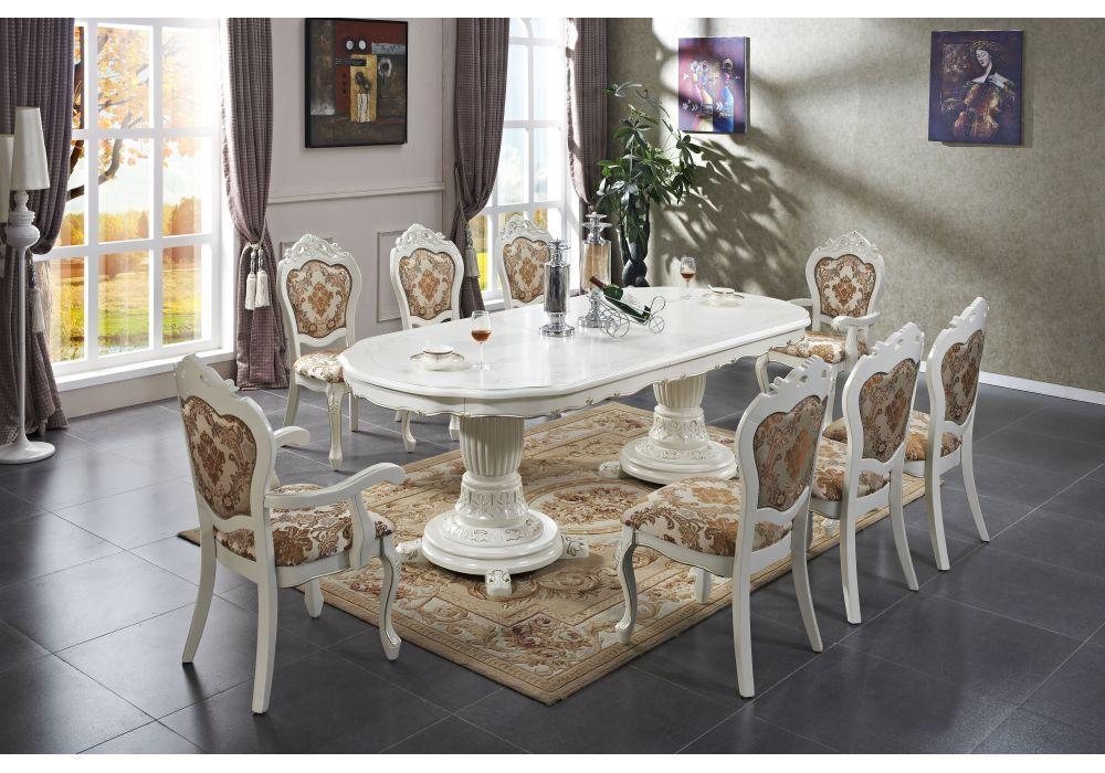 Стол обеденный Daming  3.5м (белый)