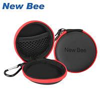 Чехол-футляр New Bee для наушников и bluetooth гарнитур. Кейс для хранения наушников
