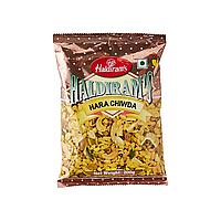Haldirams Hara Chiwda (Гостро-солодка закуска з повітряного рису та горіхів), 200 гр
