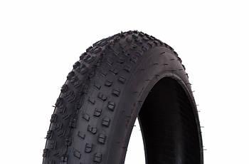 Велосипедная шина покрышка для фэтбайка 20x4.0 WANDA P1272 Черная (TIR-20-018)