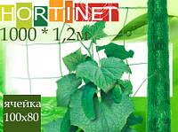 Шпалерная сетка HORTINET 11FHбелая1000 x 1,(S1000м.кв) ячейка 100х80