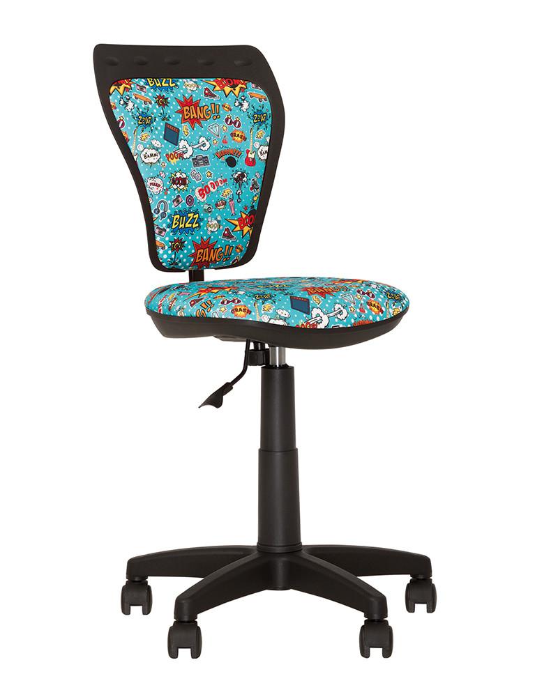 Крісло дитяче Ministyle GTS black хрестовина PL55, тканина Сомісѕ-01 (ТМ Новий Стиль)