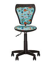 Кресло детское Ministyle GTS black крестовина PL55, ткань Сomics-01 (Новый Стиль ТМ), фото 2