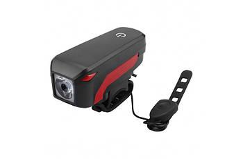Ліхтар пер. BC-FL1552 350 лм живлення Li-on 2000mAh з ел дзвінком 120дб USB Pl