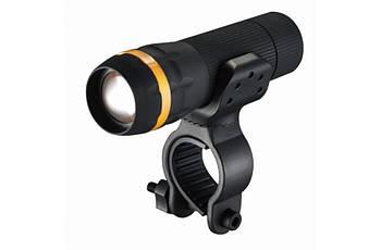 Ліхтар пер. BC-FL1519 1w LED, живлення батарейки 3хААА з унів. крепл. Pl