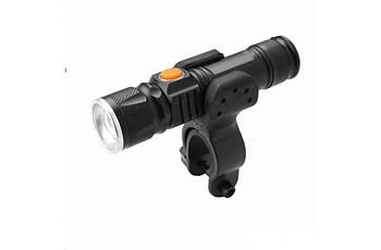 Велосипедный фонарь передний LED USB BC-FL1578 300лм  питание Li-on 1200mAh (LTSS-037)