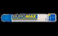 Клей канцелярский Buromax BM.4802, с апликатором (губкой), 50 мл