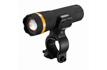 Ліхтар пер. BC-FL1518 1w LED, живлення батарейки 3хААА з унів. крепл. Pl