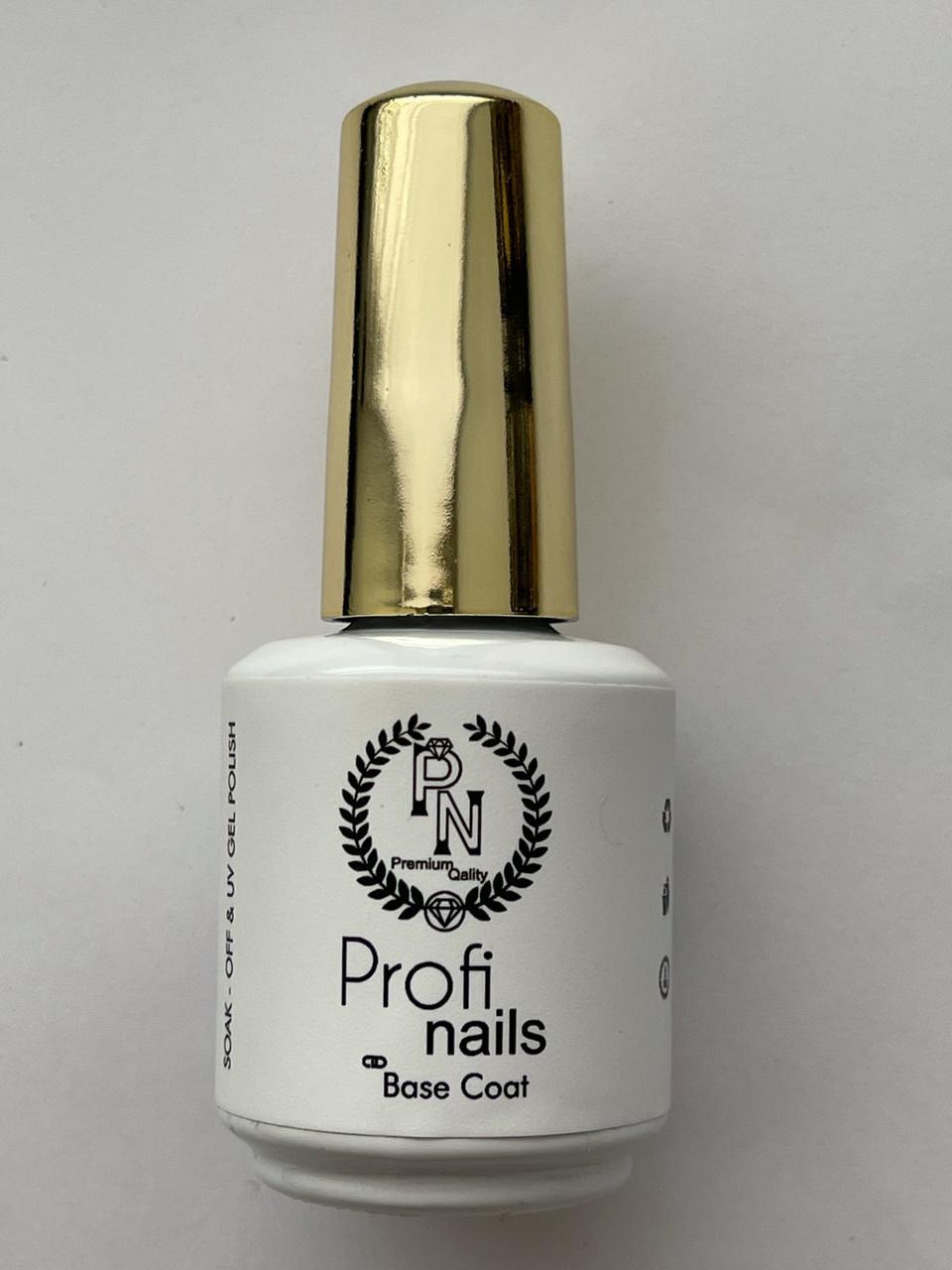 Base coat от Profi nails жидкая база под гель лак 15 ml