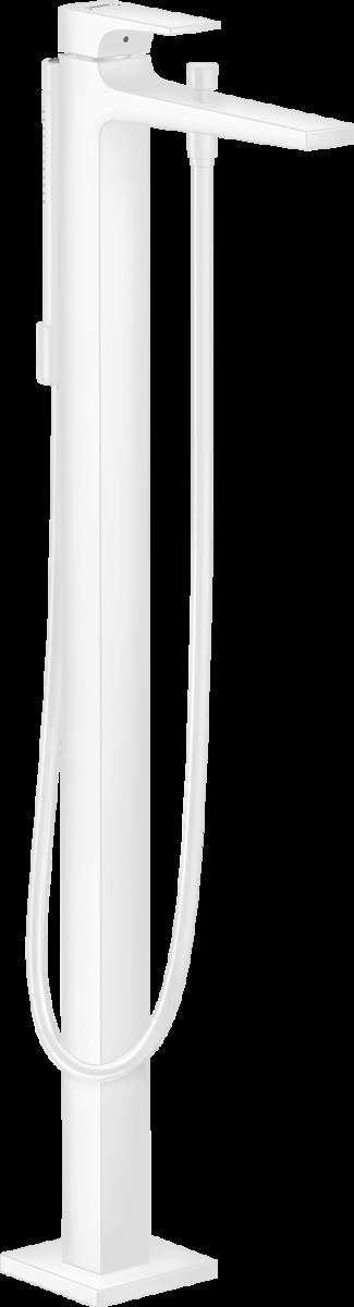 Змішувач Metropol для ванни підлоговий Matt White (32532700)