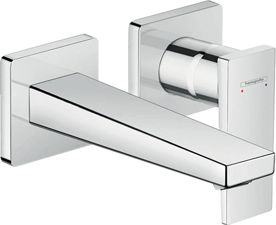 Змішувач Metropol для раковини зі стіни 165 мм хромований (32525000)
