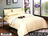 Набор постельного белья Страйп сатин S-K-11-0507-ST Евро