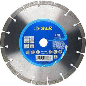 Диск отрезной алмазный Ø230 S&R Segment для армированного бетона (Германия)
