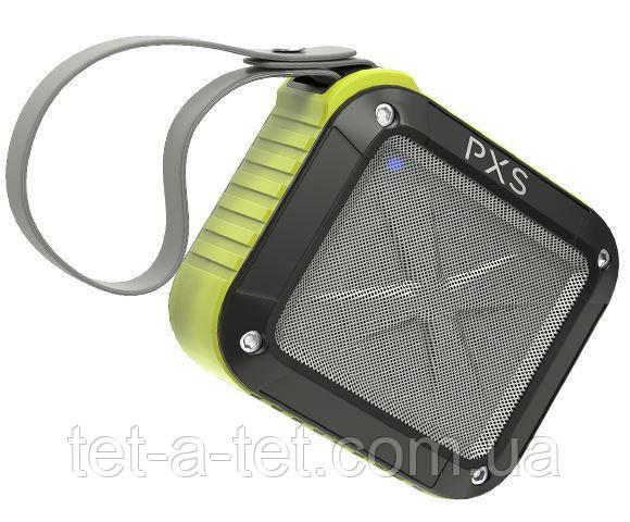 Портативная колонка с влагозащитой Pixus Scout mini (IPX6) Lime