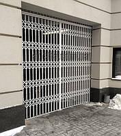 Раздвижная решетка на дверь Шир.3600*Выс3000мм