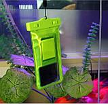 Водонепроницаемый чехол для телефона BASEUS WATERPROOF GREEN, фото 2