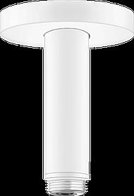 Кронштейн для верхнього душу зі стелі S 100 мм Matt White (27393700)