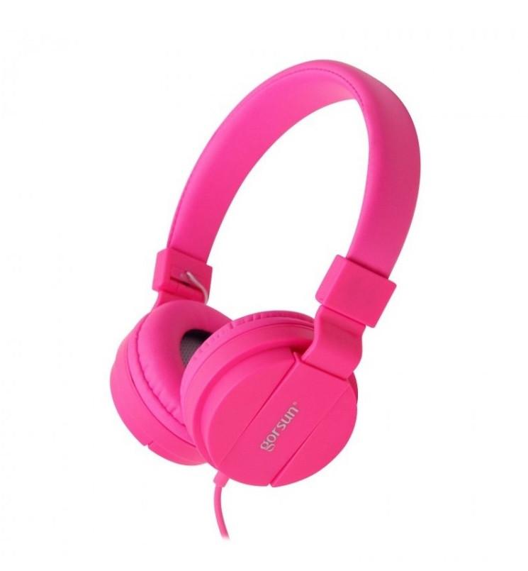 Наушники gorsun GS-778 pink