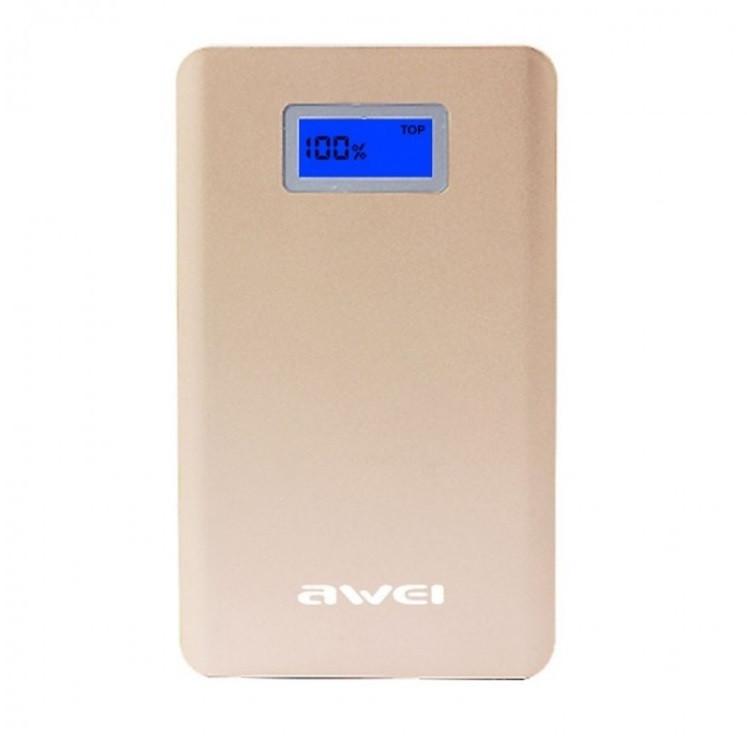 Power Bank Awei P83k 10000 mAh Gold