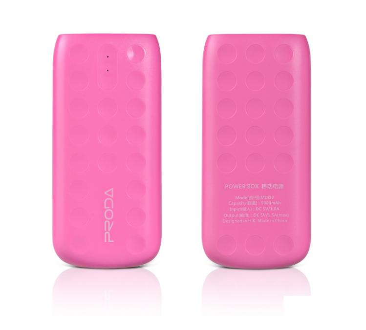 Power Bank Remax Proda Lovely PPL-2 5000mAh Pink