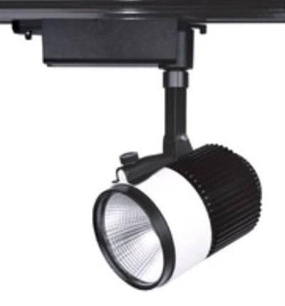 Світлодіодний світильник трековий SL 30TRL/CWB 30W 6000К чорний Код.58512, фото 2
