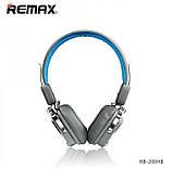 Bluetooth Наушники REMAX RB-200HB Blue, фото 3
