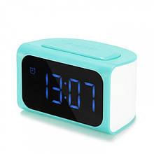 Настольные часы REMAX ZMart Alarm Clock RMC-05 Blue