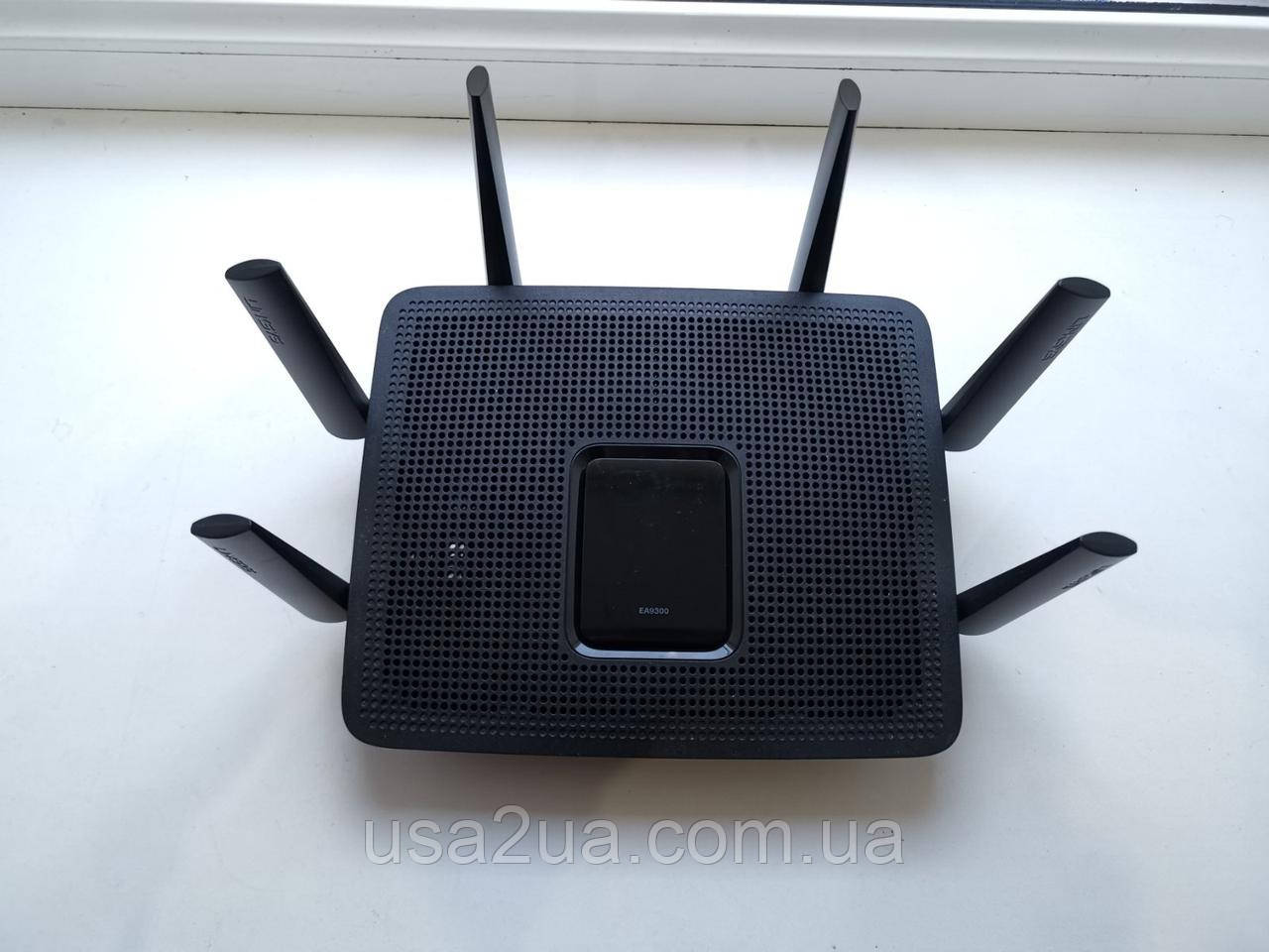 Маршрутизатор Роутер Cisco Linksys EA 9300 4000 Мбит/с кредит гарантия AC4000 MU-MIMO Tri-Band