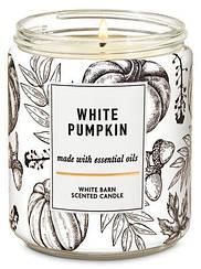 Ароматическая свеча Bath and Body Works White Pumpkin