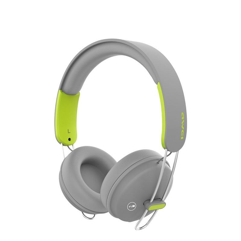 Bluetooth наушники Awei A800BL Grey