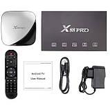 Приставка Smart TV Box X88 Pro RK3318 4Gb/64Gb Black, фото 5