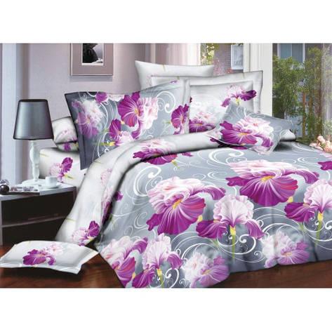 Качественное постельное белье ТЕП  RestLine 151 «Фуксія» 3D дешево от производителя., фото 2