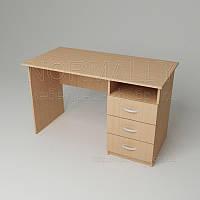 Стол письменный 1200x600x750h для офиса