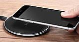 Бездротове зарядний пристрій Hoco CW6 Homey (1A) Black, фото 5